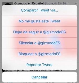 Imagen - Twitter permite indicar que no nos gusta un tweet para mejorar nuestro timeline