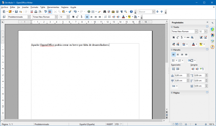 Imagen - OpenOffice podría llegar a su fin