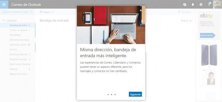 Imagen - Outlook renueva su aspecto