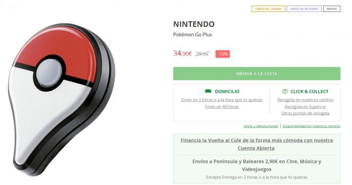 Imagen - Dónde comprar la Pokémon Go Plus