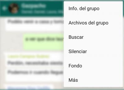 Imagen - Cómo silenciar las menciones de WhatsApp en los grupos