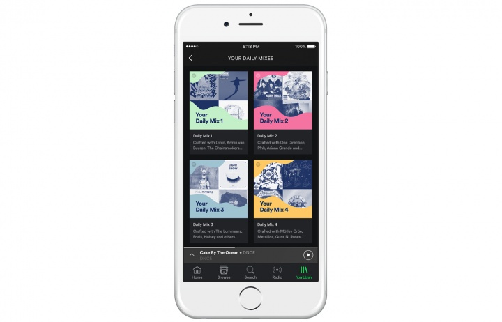Imagen - Daily Mix, las nuevas listas con sugerencias de Spotify