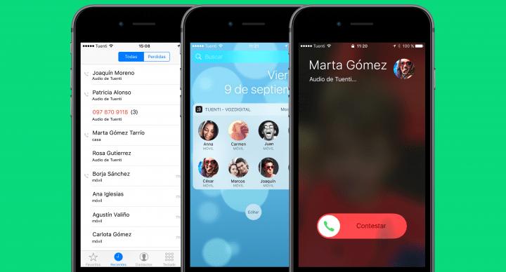 Tuenti integra sus llamadas en iOS 10
