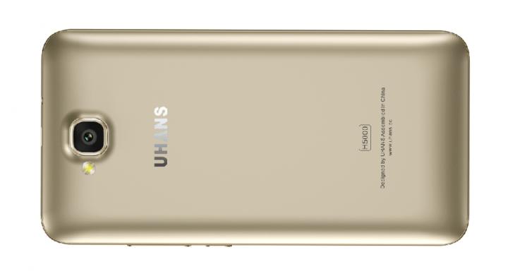 Imagen - UHANS H5000, un smartphone compacto con 5.000 mAh de batería