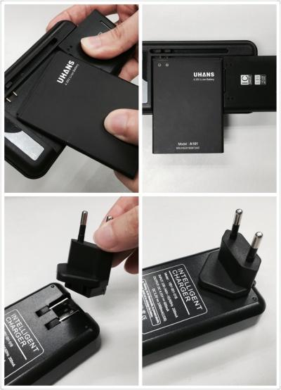Imagen - UHANS A101, un teléfono que permite cargar su batería de forma independiente