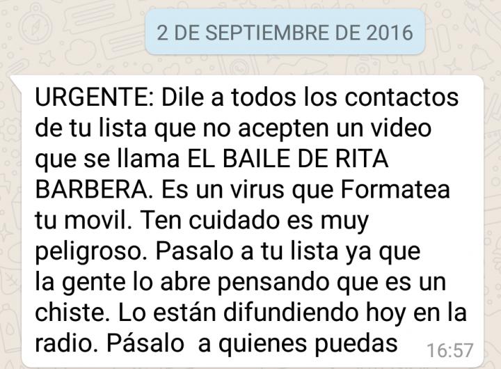"""Imagen - Regresa el virus de """"el baile de Rita Barberá"""""""