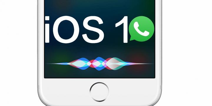 Ya puedes enviar WhatsApp desde Siri con un iPhone
