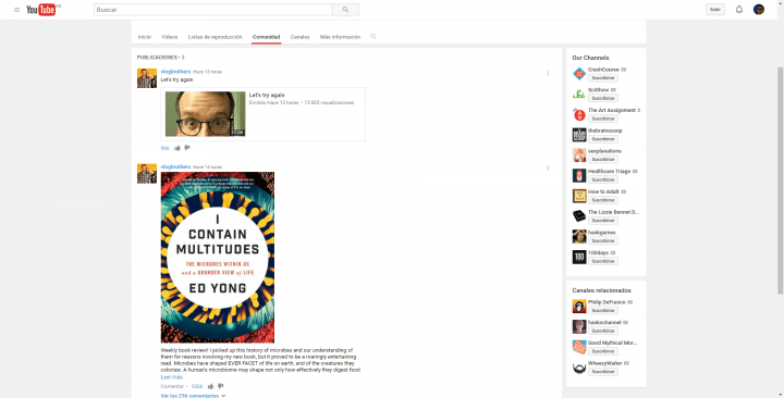 Imagen - Las comunidades de YouTube ya son una realidad