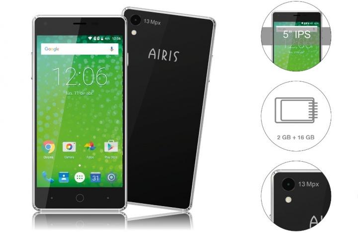 Airis TM50QZ y TM55QZ, dos smartphones para usuarios poco exigentes