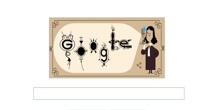 Google dedica un Doodle a Antoni Van Leeuwenhoek