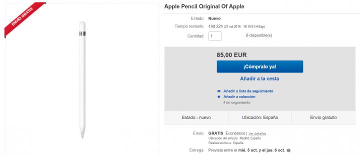 Imagen - Dónde comprar el Apple Pencil