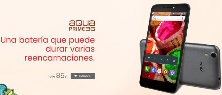 Imagen - Intex Aqua Prime 3G, Aqua Shine 4G y Aqua S9 Pro llegan a España
