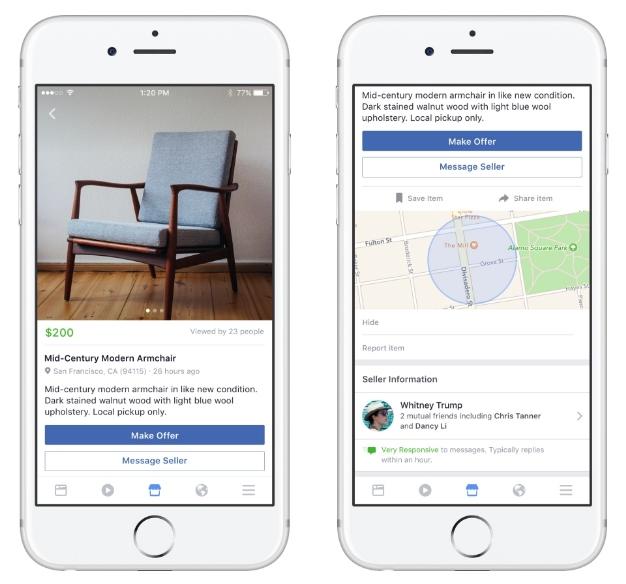 """Imagen - Facebook Marketplace, el """"Wallapop"""" propio de la red social"""