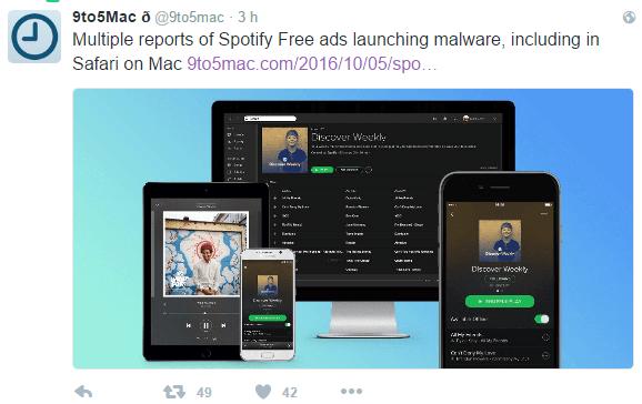 Imagen - Un malware se cuela en Spotify