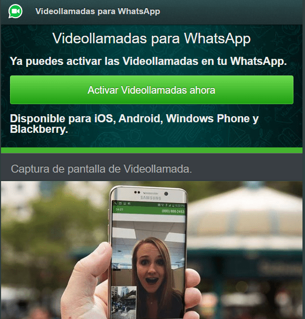 Imagen - Cuidado con Whatsp.me, la nueva estafa de las videollamadas de WhatsApp