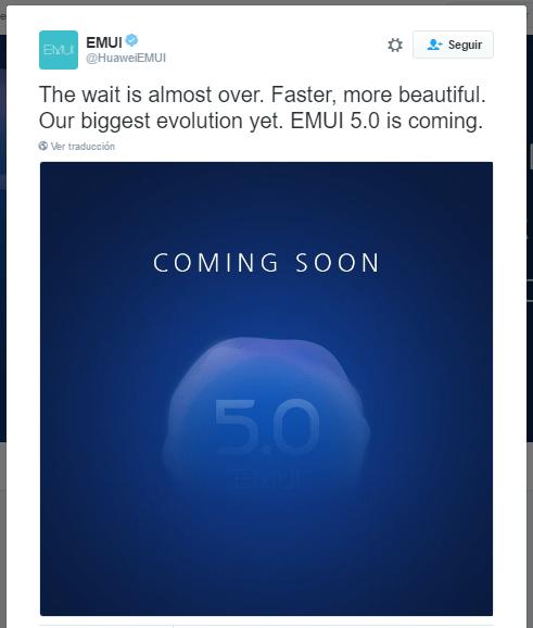 Imagen - Huawei presentará EMUI 5.0 muy pronto