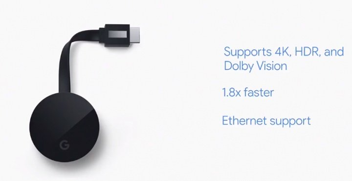 Imagen - Google Chromecast Ultra llega con soporte 4K y HDR