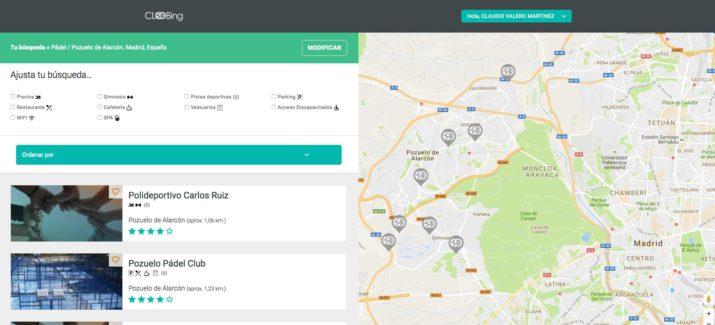 Imagen - Cloobing, la primera app para reservar pistas deportivas