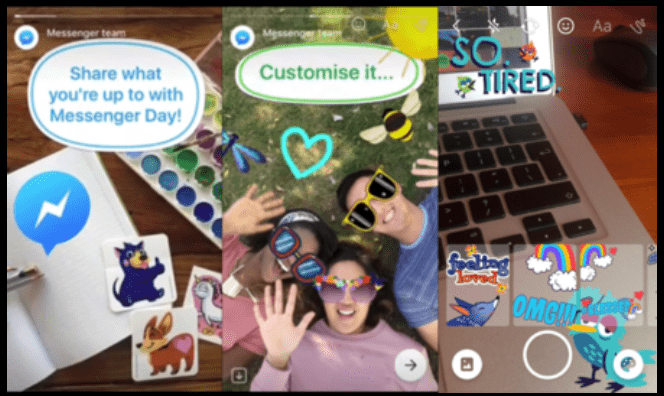 "Imagen - Messenger Day, el ""Snapchat Stories"" de Facebook"