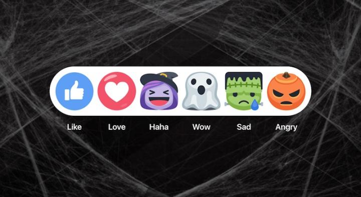 Imagen - Facebook se actualiza con motivo de Halloween