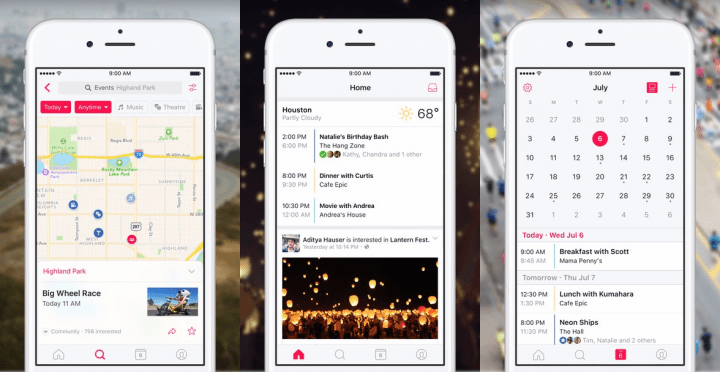 Imagen - Events de Facebook, la app para encontrar planes de ocio