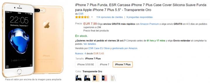 Imagen - 5 fundas para el iPhone 7 Plus