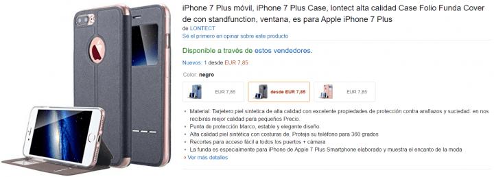 Imagen - 5 fundas para el iPhone 7 por menos de 10 euros