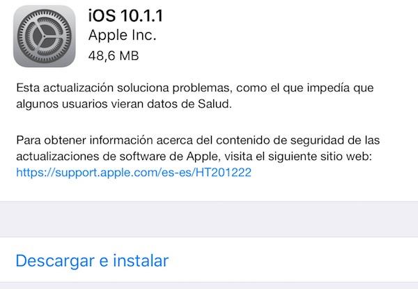 Imagen - iOS 10.1.1 está provocando problemas de batería en el iPhone