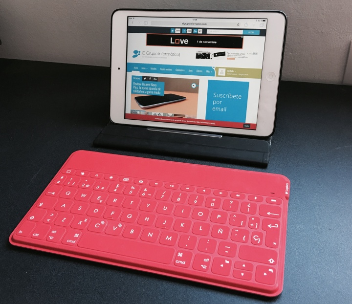 Imagen - Review: Logitech Keys-to-go, el teclado en movilidad que repele líquidos