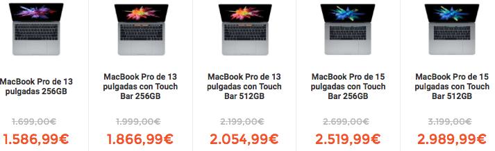 Imagen - Donde comprar más barato los nuevos MacBook Pro