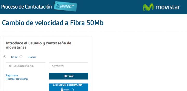 Imagen - Cómo pedir el aumento a 50 megas gratis en Movistar