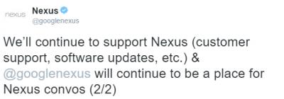 Imagen - Los Nexus ya no están disponibles en Google Play