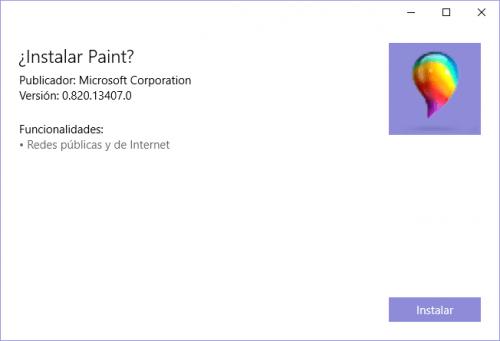 Imagen - Descarga el nuevo Paint de Windows 10