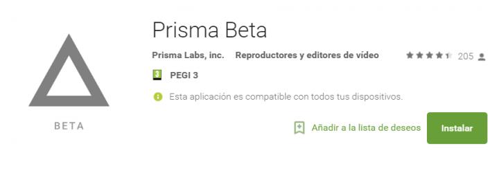 Imagen - Descarga la beta de Prisma