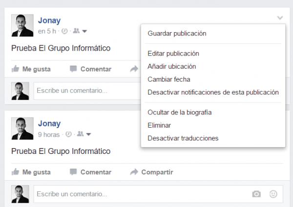 Imagen - Facebook ya permite programar publicaciones