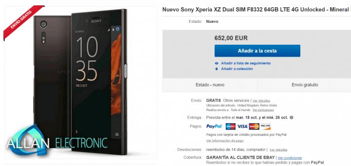Imagen - Dónde comprar el Sony Xperia XZ