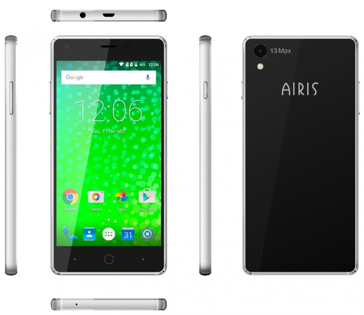 Imagen - Airis TM50QZ y TM55QZ, dos smartphones para usuarios poco exigentes