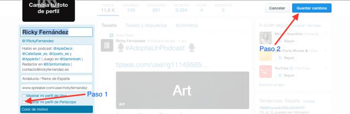 Imagen - Cómo enlazar Twitter con Periscope