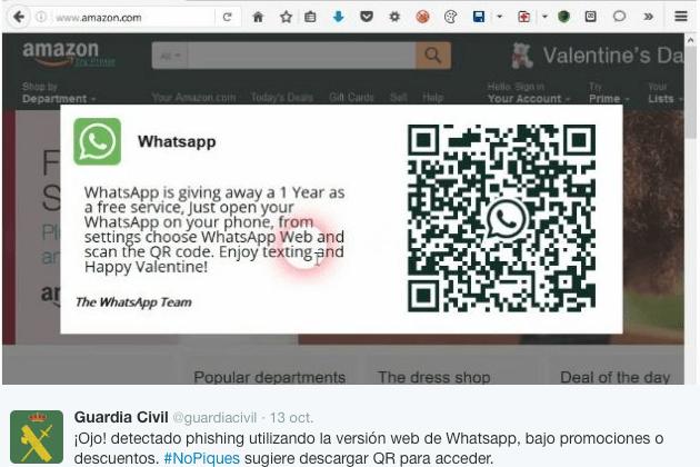 Imagen - Cuidado con la falsa versión de WhatsApp Web