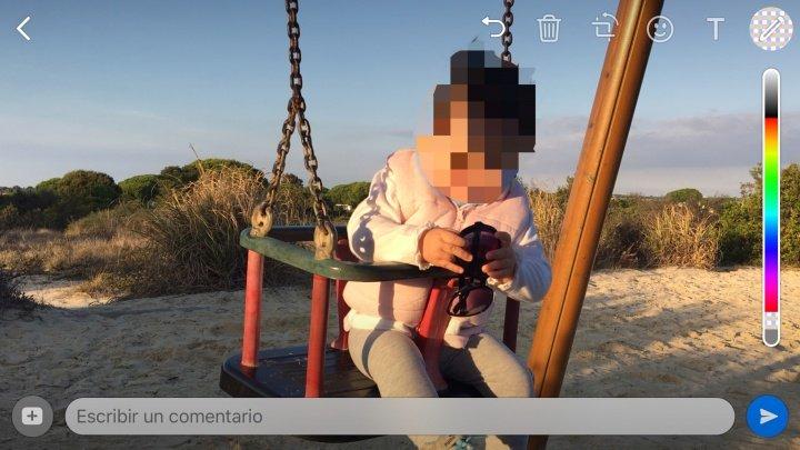 WhatsApp para iPhone ya permite dibujar en fotos y vídeos