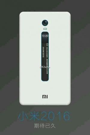 Imagen - Filtrados Xiaomi Mi 5c y un modelo con pantalla de tinta electrónica para notificaciones