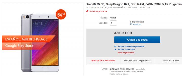 Imagen - Dónde comprar el Xiaomi Mi5S