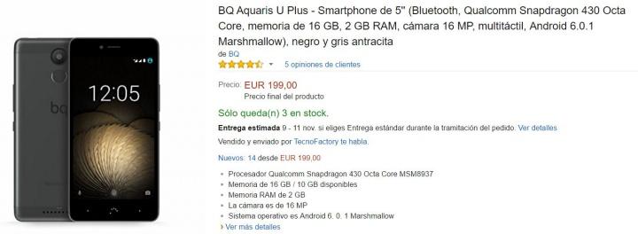 Bq Aquaris X Compra Amazon