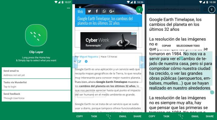 Imagen - Clip Layer, la app de Microsoft para mejorar la función de cortar y pegar en Android