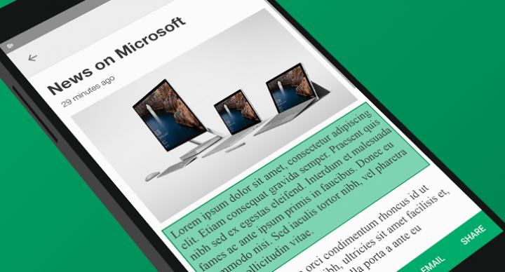 Clip Layer, la app de Microsoft para mejorar la función de cortar y pegar en Android