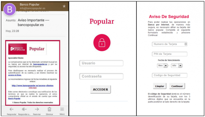 Imagen - Detectados nuevos emails falsos que se hacen pasar por Banco Popular