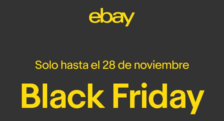 Ahorra este Black Friday con las rebajas de eBay