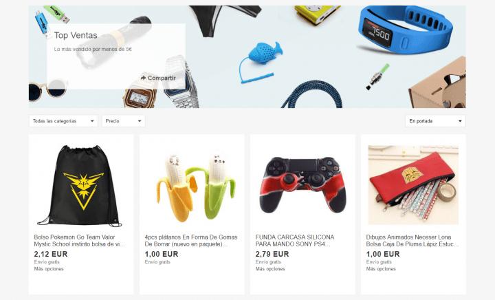 Imagen - Consigue cientos de productos en eBay por menos de 5 euros