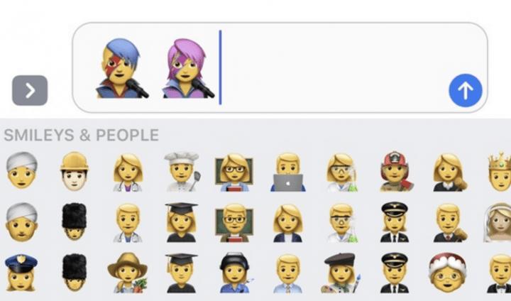 Imagen - David Bowie tiene un emoji en iOS 10.2