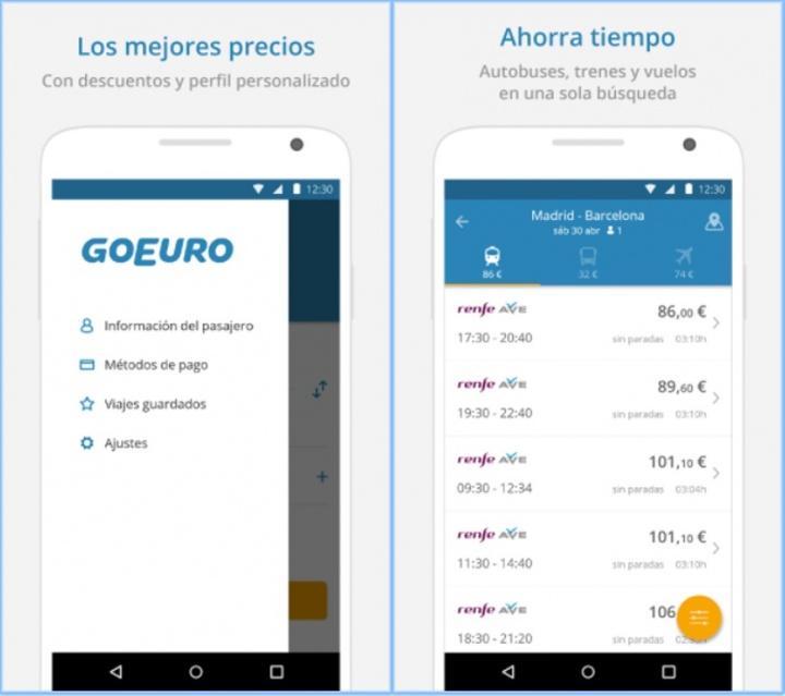 Imagen - La app de GoEuro: una de las mejores en búsqueda de viajes
